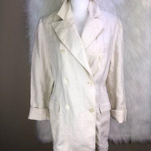 Sz L Ralph Lauren Linen blazer